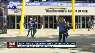 Lightning's Quest for the Cup starts at 7pm - Video