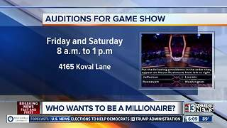 Auditions for Who Wants to be a Millionaire