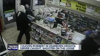 Man wanted for shooting at metro Detroit 7-Eleven clerk during robbery - Video