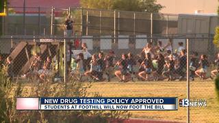 New drug testing policy approved