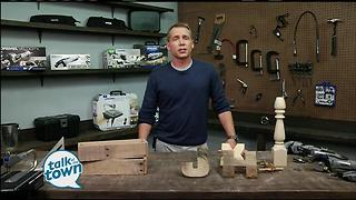 DIY projects from Fixer Upper Craftsman Clint Harp - Video
