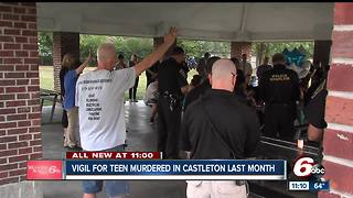 Vigil held to raise awareness about unsolved murder of 13 year old - Video