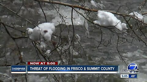 Frisco and Summit counties preparing for possible flooding
