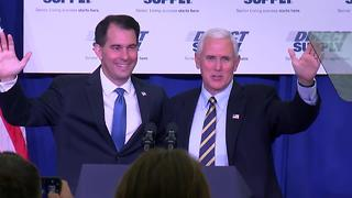 FULL SPEECH: Vice President Mike Pence speaks at Direct Supply in Milwaukee - Video