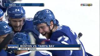 Tampa Bay Lightning beat Boston Bruins 4-0