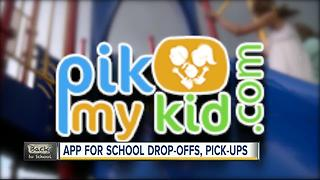 'PikMyKid' app created to help make the car line less stressful for parents, schools - Video