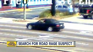 Suspect on the run in deadly road rage stabbing - Video