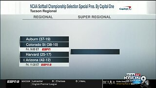 Arizona seeded 6th in NCAA Softball Tournament