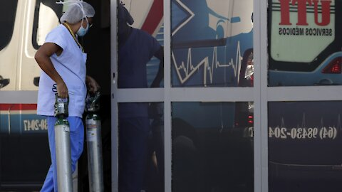 Brazil's Hospitals Can't Keep Up With COVID Cases
