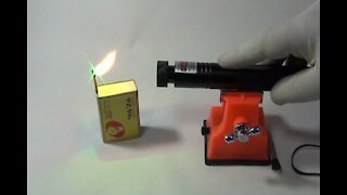 Chinese Class 3, US$10, Laser Pointer Test