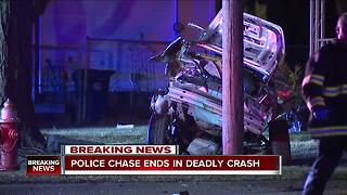 2 dead, car ripped into pieces after chase from Shaker Heights into Cleveland ends in violent crash