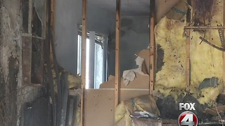 Cape Coral House Fire Family Speaks - Video