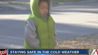 Staying safe in the cold weather - Video