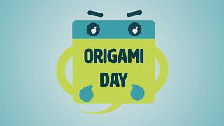 Name The Day: The Giant Origami Crane - Video