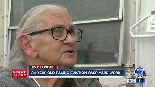 Commerce City elderly woman facing eviction says living in van only option - Video