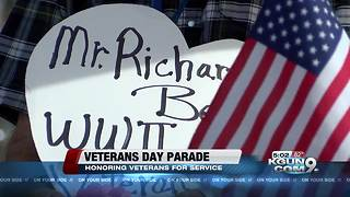 Hundreds attended Tucson's Veterans Day Parade - Video