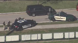 RAW VIDEO: Aerials over school shooting scene near Miami