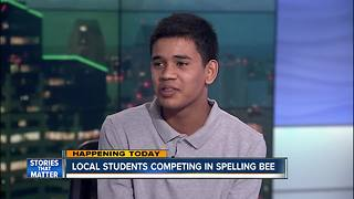 2017 San Diego Countywide Spelling Bee champ talks to 10News