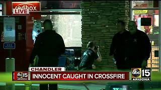 Chandler officers shot at in pursuit; 3 taken into custody - Video