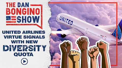 United Airlines Virtue Signals with New Diversity Quota