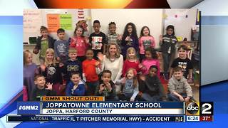 Good morning from Joppatowne Elementary - Video