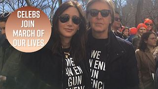 All the stars who Marched For Our Lives - Video