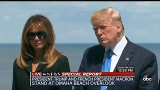 ABC News Special Report: Trump honors D-Day veterans