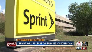 Sprint to release third quarter earnings Wednesday amid merger rumors - Video