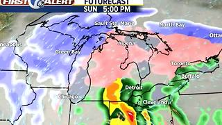 Wintry mix this weekend