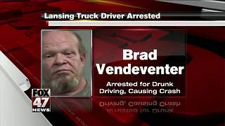 Semi driver from Lansing behind bars after fiery crash - Video
