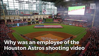 Astros Under MLB Investigation over Video Shot During Game