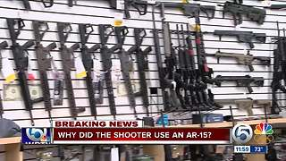 Why did the shooter use an AR-15? - Video