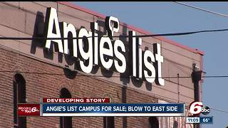 Angie's List campus for sale, neighbors concerned about future of community - Video