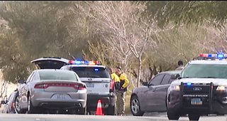 Police shooting causes commotion in west Vegas neighborhood