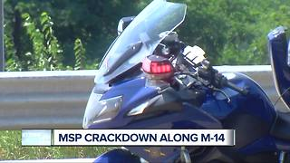 Michigan State Police cracking down on speeding and aggressive drivers - Video
