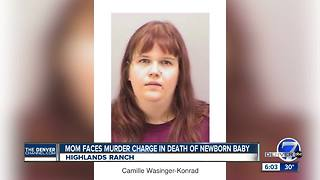 Mother arrested after dead newborn discovered in Highlands Ranch backyard - Video