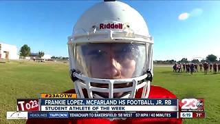 Male Athlete of the Week: Frankie Lopez - Video