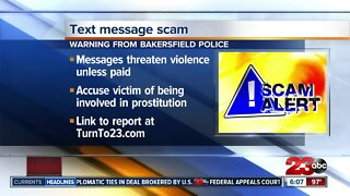 Bakersfield Police warn of text message scam