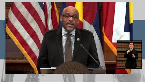 Denver Mayor Hancock, city officials provide update on how Denver is preparing for this weekend's snowstorm