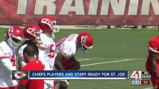 Chiefs head to St. Joe for training camp - Video