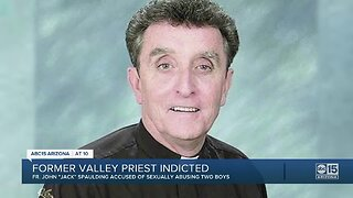 Former Phoenix priest indicted on sexual abuse charges