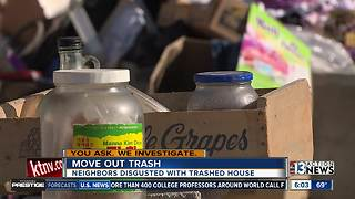 YAWI: Neighbors get help after living near trashed home for a week - Video