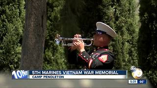 5th Marines Vietnam War Memorial - Video