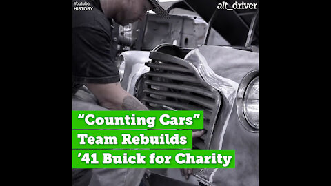 """Counting Cars"" Team Rebuilds a '41 Buick for Charity"