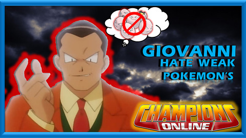 This is what Giovanni does to weak Pokemon