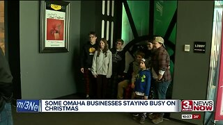 Some Omaha Businesses Staying Busy on Christmas