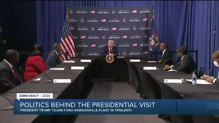 Politics behind the presidential visit to Michigan