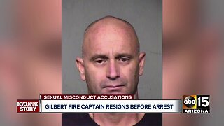 Ex-Gilbert Fire captain accused of sexual conduct with minor