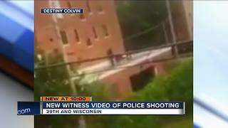 Video shows police shooting near Marquette