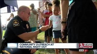 Community Outreach at National Night Out - Video